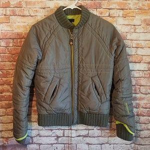 Diesel green nylon jacket
